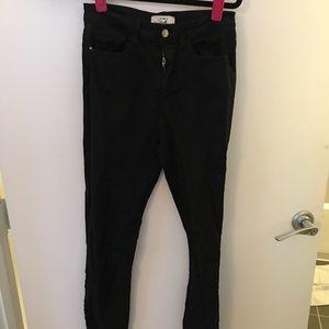 Forever 21 high waisted black skinny jeans